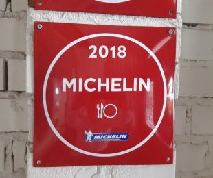 Restauracja Strefa wyróżniona plakietą Michelin 2018